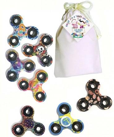 Fidget spinner con diseño regalo día del niño