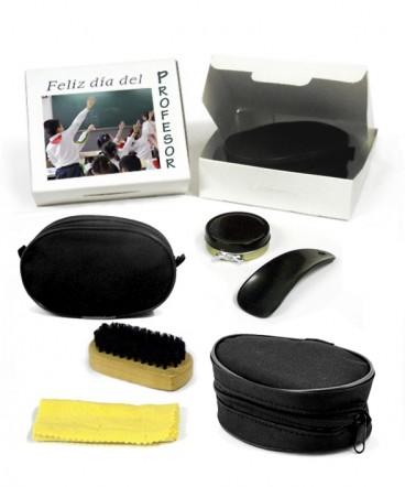 Set de calzado en caja regalo día del profesor