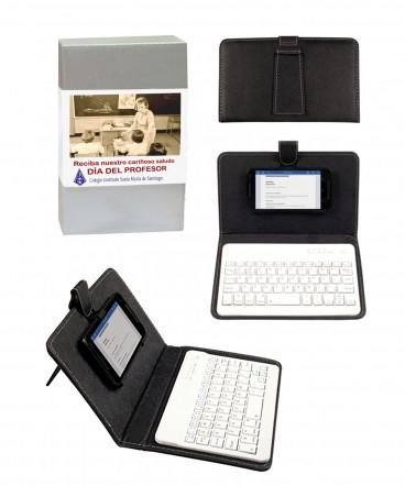 Teclado bluetooth para celulares regalo día el profesor