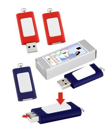 Pendrive interruptor 4GB regalo dia del paramédico