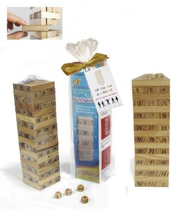Yenga madera grande regalo día del niño