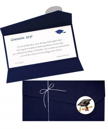 Invitación a graduación o Licenciatura