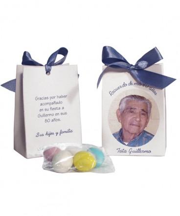 Bolso cinta con foto recuerdo de cumpleaños