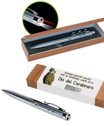 Bolígrafo metálico multifunción regalo dia del CARABINERO
