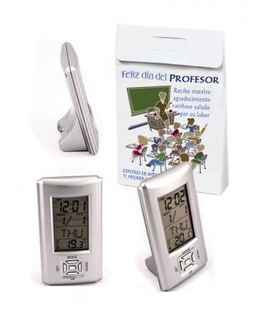 Reloj digital en bolso regalo día del profesor