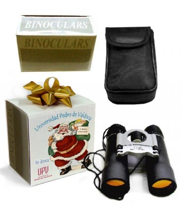 Binoculares LENTE RUBI regalo de navidad