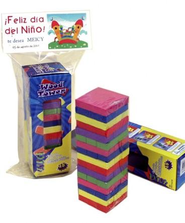 Yenga chico colores regalo dia del niño