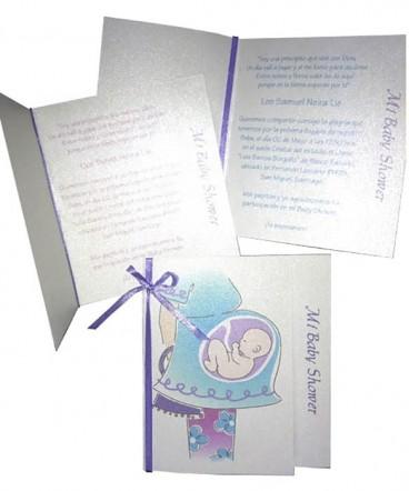 Tarjeta invitación Baby Shower