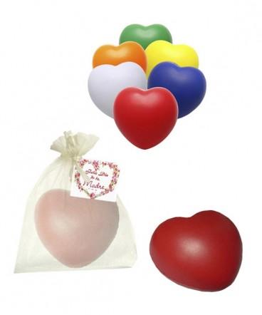 Corazón anti-stress regalo día de la madre