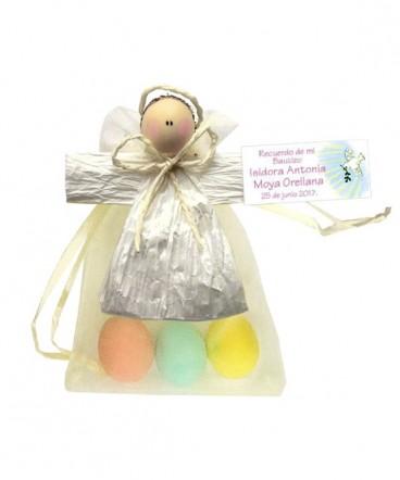 Angel country huevos almendra recuerdo de bautizo