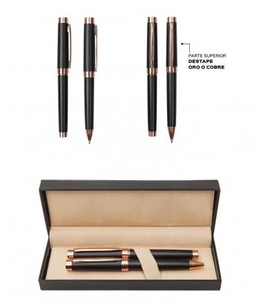 Set de bolígrafo y Rollerball