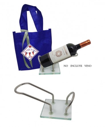 Posa Botella regalo fiestas patrias