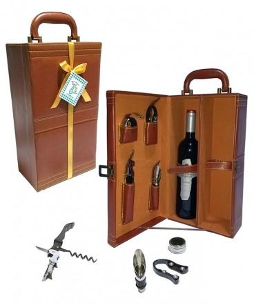 Maleta de vino regalo día del padre