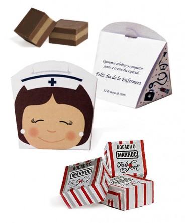 Cajita bombones regalo dia de la enfermera