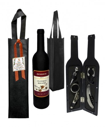 Set de vino regalo de navidad