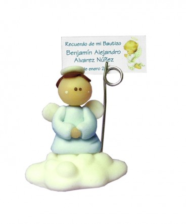Angel nube recuerdo de bautizo