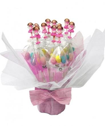 Base hadas cerámica huevos brochetas recuerdos de Cumpleaños