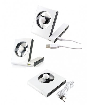 Ventilador con HUB USB