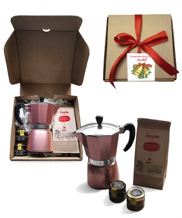 Set café express regalo de navidad