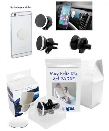 Porta celular para vehiculo regalo dia del padre
