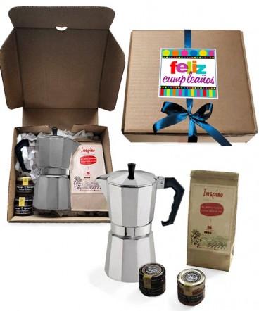 Kit café express regalo de cumpleaños