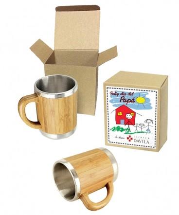 Tazon de Bamboo regalo dia del padre