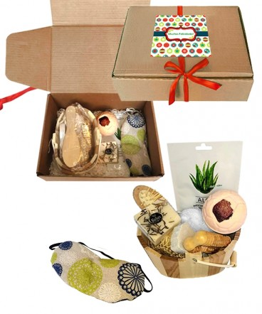 Set Spa terapéutico relax regalo femenino de navidad