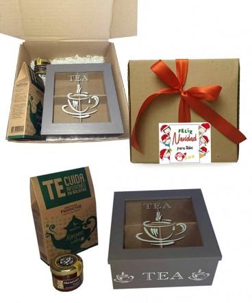 Set de Te infusión regalo de navidad