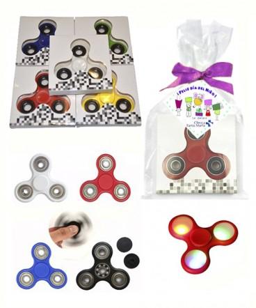 Fidget spinner luminoso regalo dia del niño