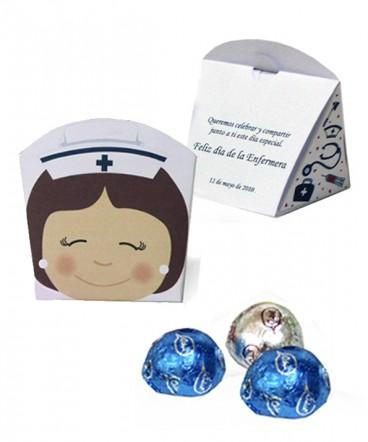 Cajita display regalo día de la enfermera