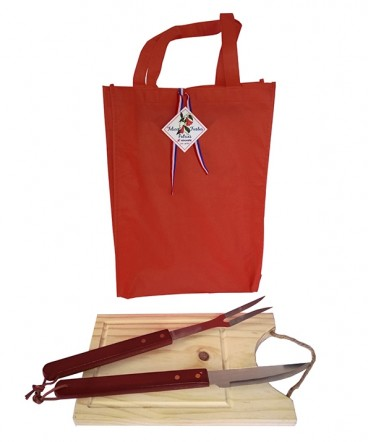 Tabla set BBQ regalo fiestas patrias