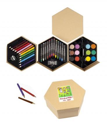 Set de pinturas regalo dia del niño