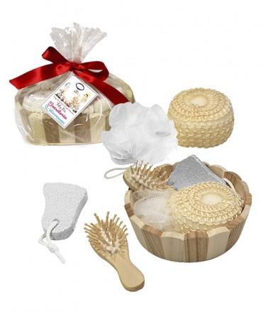 Set spa redondo 4 piezas regalo Día de la Secretaria