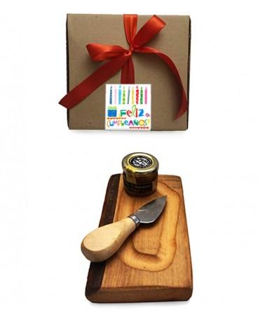 Set cóctel en caja regalo de cumpleaños
