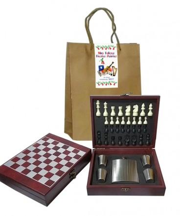 Set juego y bar regalo de fiestas patrias