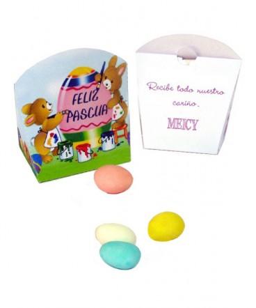Caja display regalo pascua resurrección