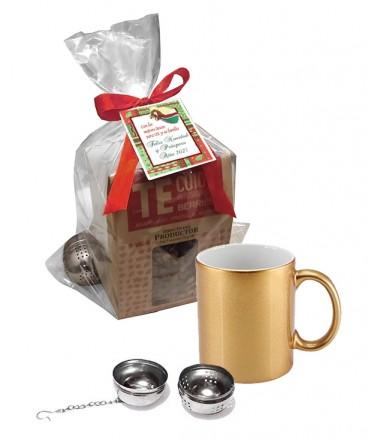 Set Tazón infusión regalo de Navidad