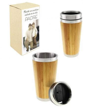 Mug bamboo regalo dia del padre