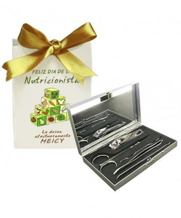 Set manicure caja regalo día de la nutricionista