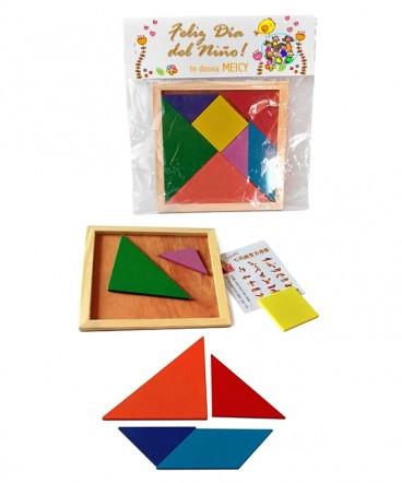 Didáctico chico geométrico regalo dia del niño