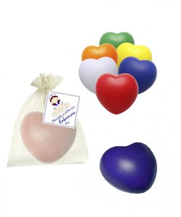 Antiestres forma corazon regalo dia de la enfermera