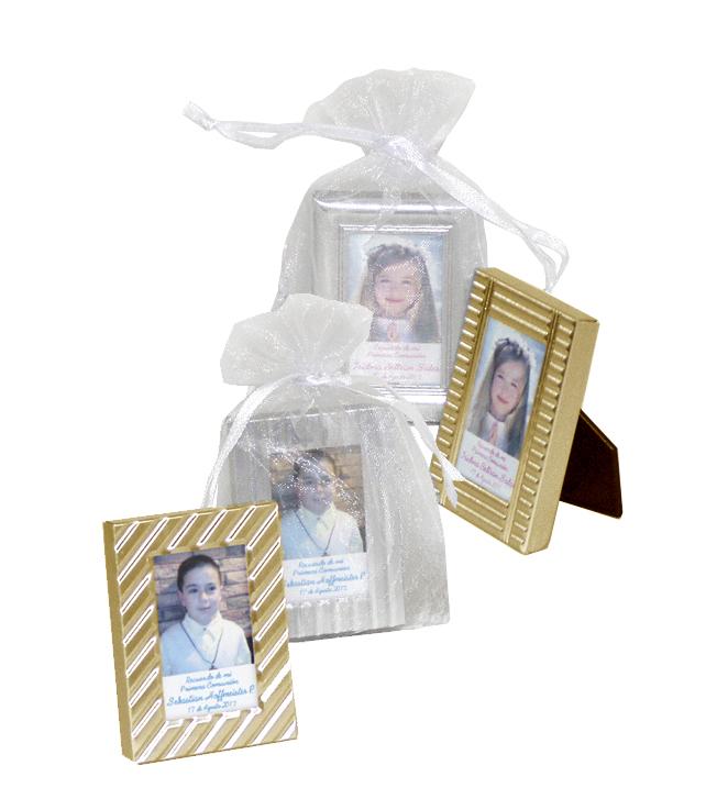 Mini marcos con foto recuerdo de Primera comunión