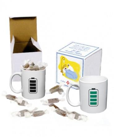 Taza magica bateria regalo dia del Paramedico