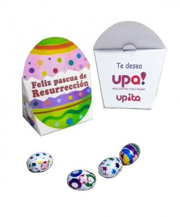Caja huevo de pascua resurrección