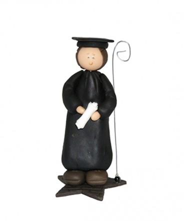Cupula de torta recuerdo de Graduación