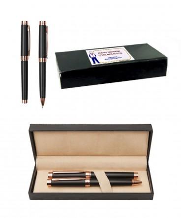 Set de bolígrafo y Rollerball regalo dia del medico y Quimico
