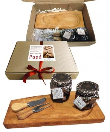 Set picoteo gourmet regalo día del padre
