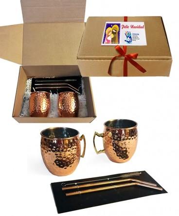 Set cobre regalo de navidad
