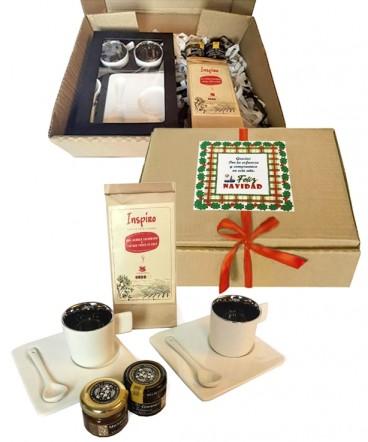 Set de café express regalo de navidad