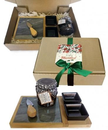 Set cocktail mármol regalo de navidad